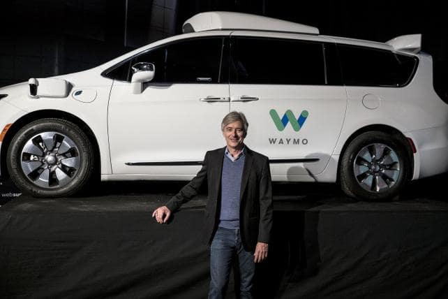 Aventura CJDR Chrysler Google Waymo Approved