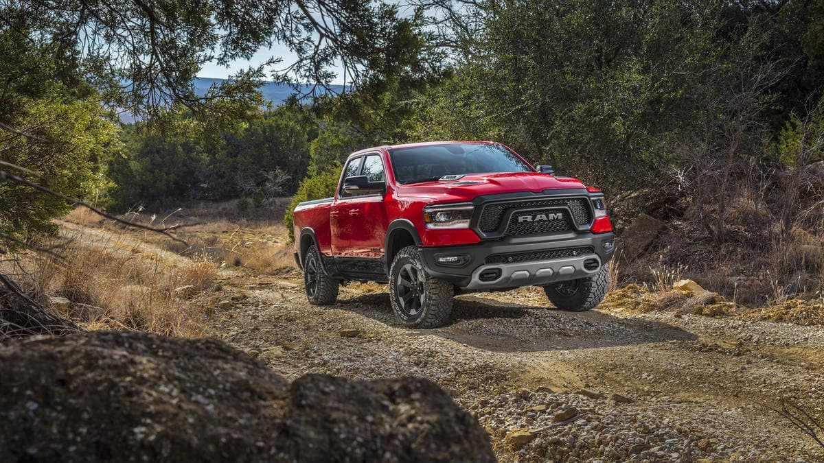 Aventura CJDR 2019 Ram Rebel Off-road