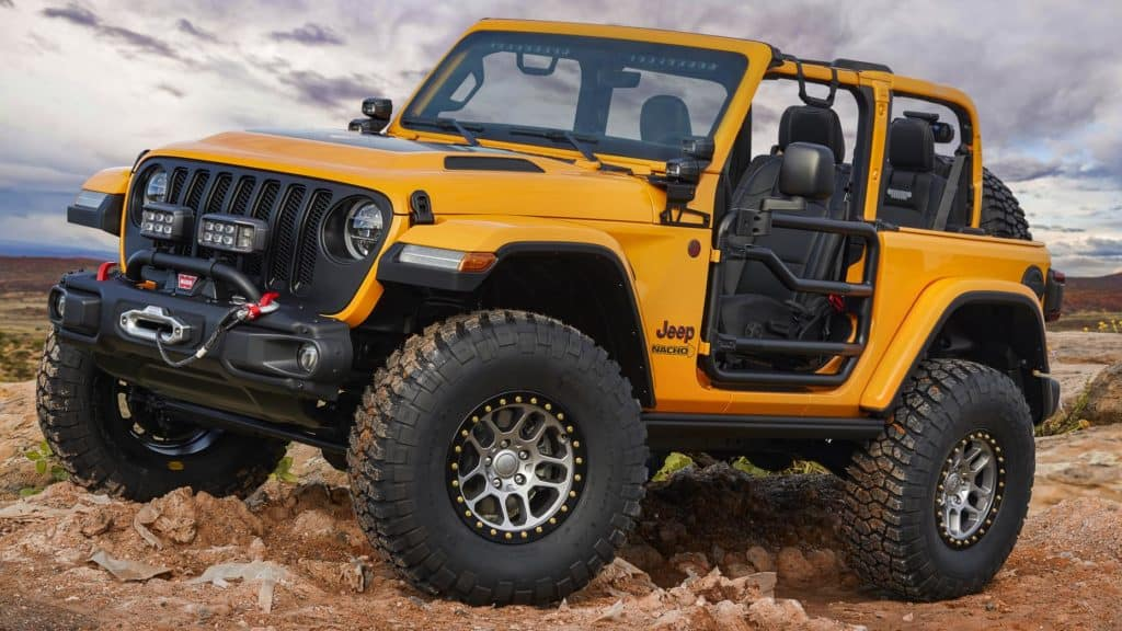 Aventura CJDR Jeep Nacho Jeep Concept