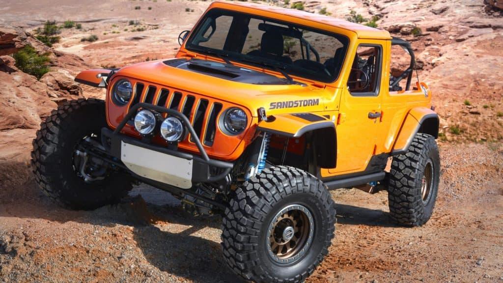 Aventura CJDR Jeep Sandstorm Concept