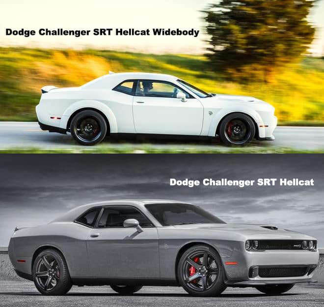 Charger Vs Challenger >> Differences Between Challenger Srt Hellcat And Challenger