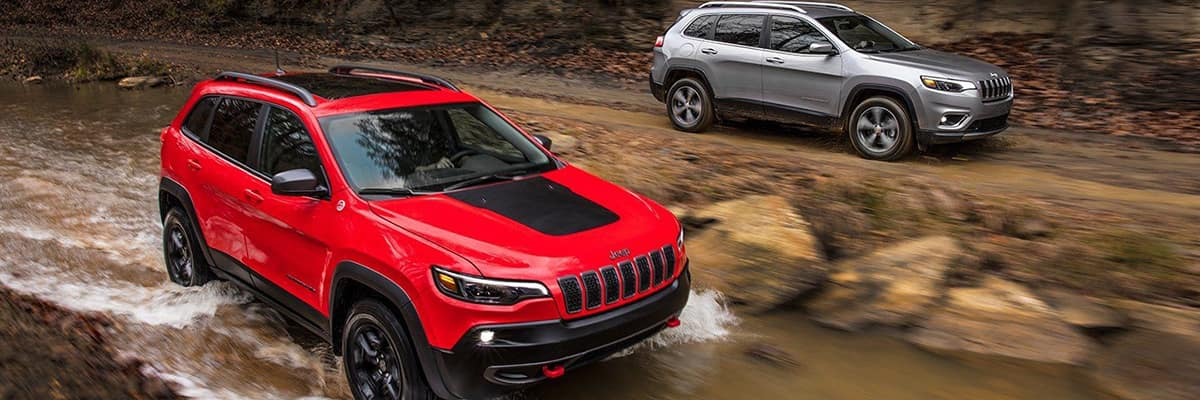 Aventura CJDR 2019 Jeep Cherokee Power