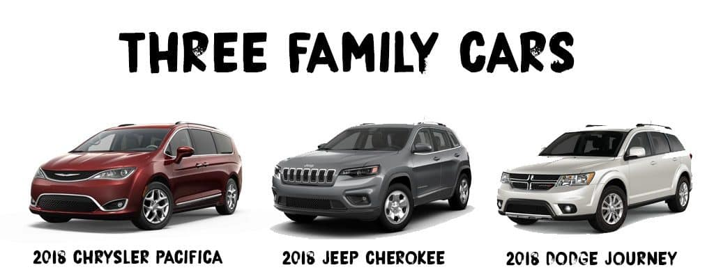 Aventura CJDR Three Family Cars Durango Pacifica Cherokee