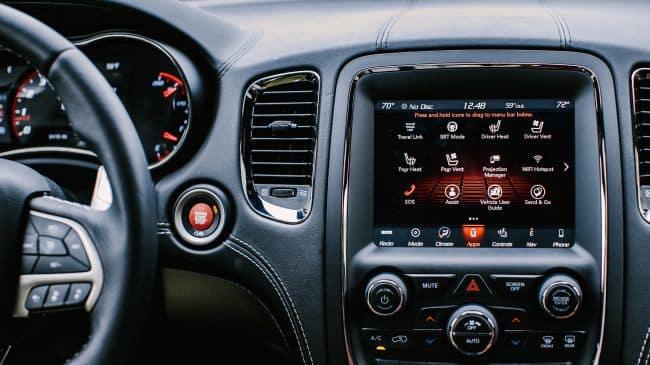Aventura CJDR Durango SRT Touchscreen