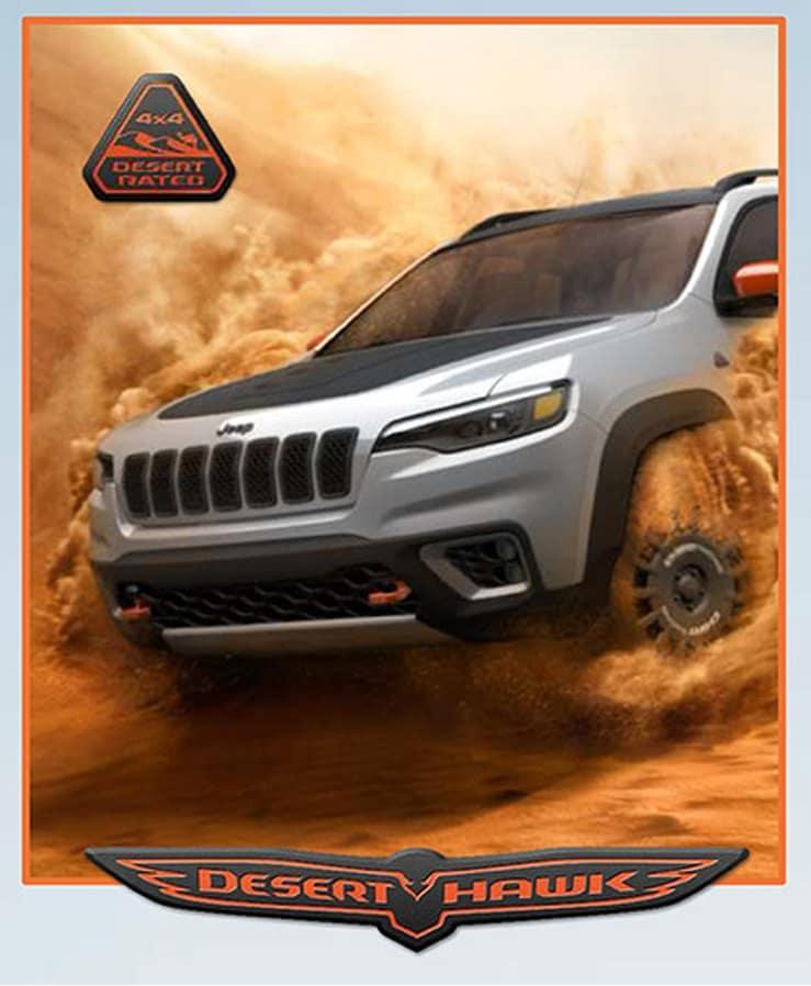 Aventura CJDR Jeep Roadmap Deserthawk