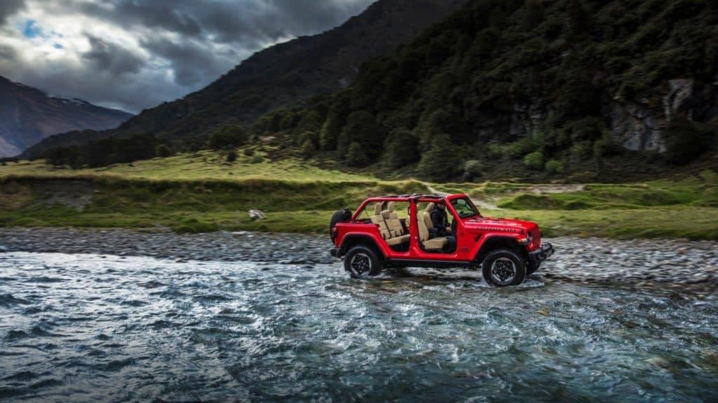 Aventura CJDR 2018 Jeep Wrangler JL Configurations