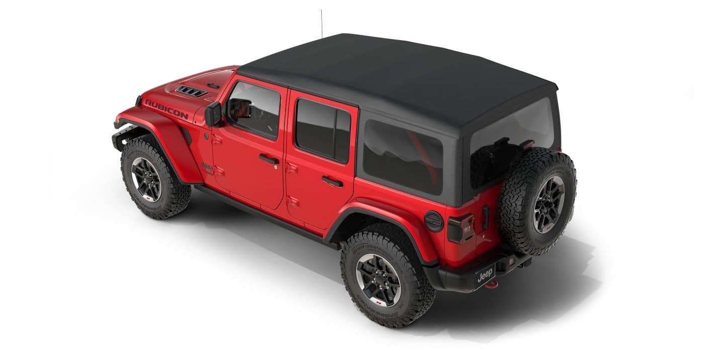 How To Remove The 2018 Jeep Wrangler Jl Soft Top And Hardtop Head Kit