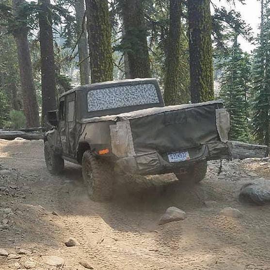 Aventura CJDR 2019 Jeep Wrangler Pickup