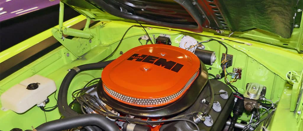 The History of Mopar Engine Colors