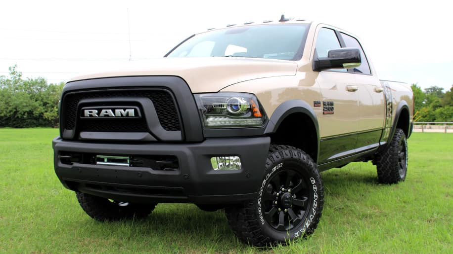 Ram Releases Mojave Sand Package For Ram 2500 Power Wagon