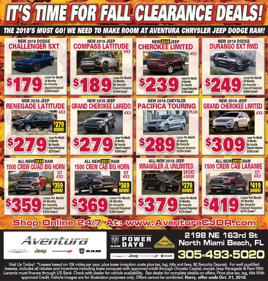Aventura News AD - Weekly Specials!