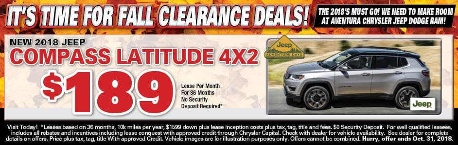 Aventura Lease Special   Compass!