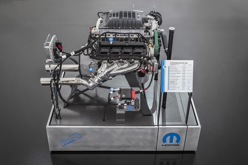 Aventura CJDR SEMA 2018 Mopar Hellephant Engine