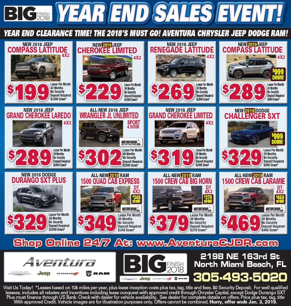 Aventura Chrysler Newspaper AD!
