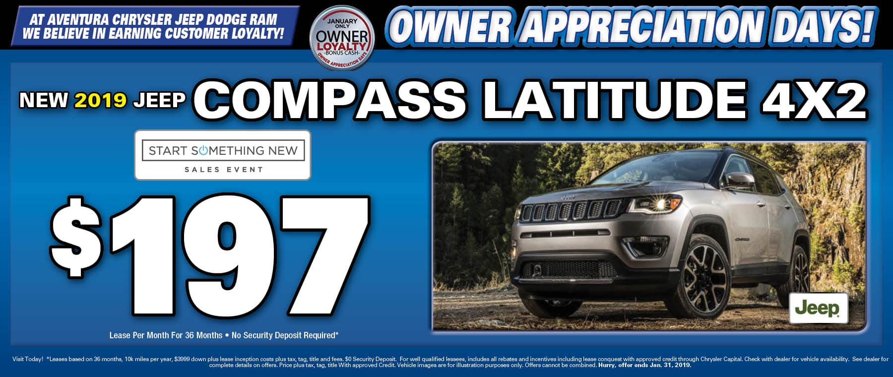 2019 Jeep Compass Latitude! - Aventura Chrysler Jeep Dodge RAM!