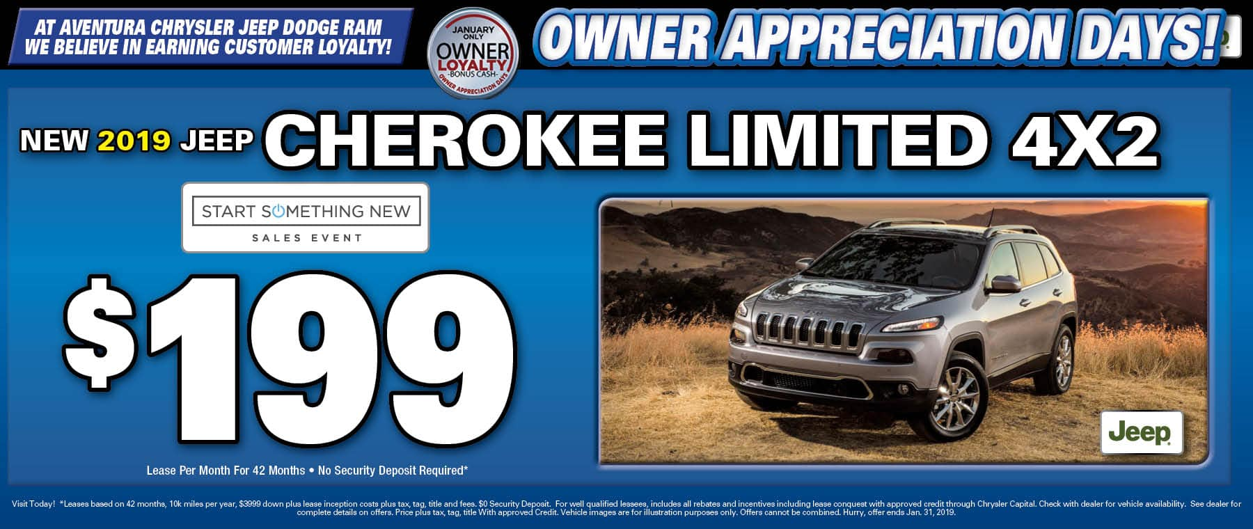 2019 Jeep Cherokee LImited! - Aventura Chrysler Jeep Dodge RAM!