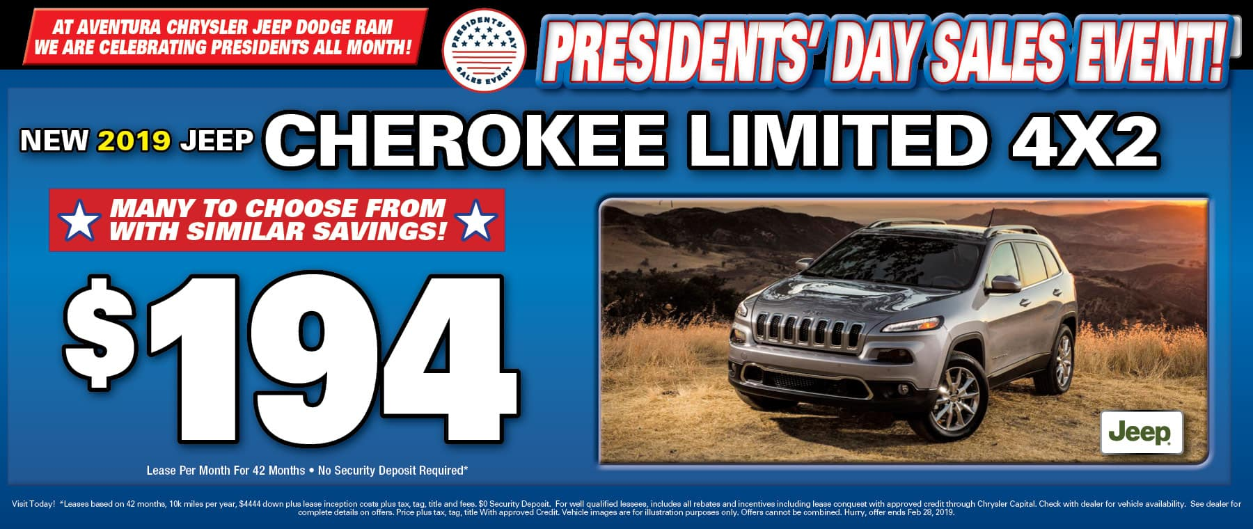 New Jeep Cherokees!