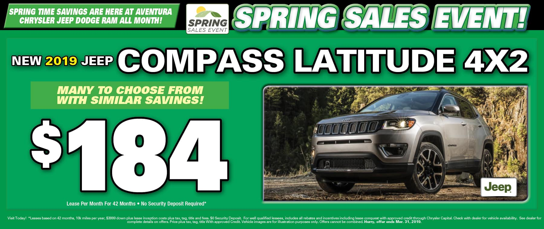 New Jeep Compass! - Aventura!
