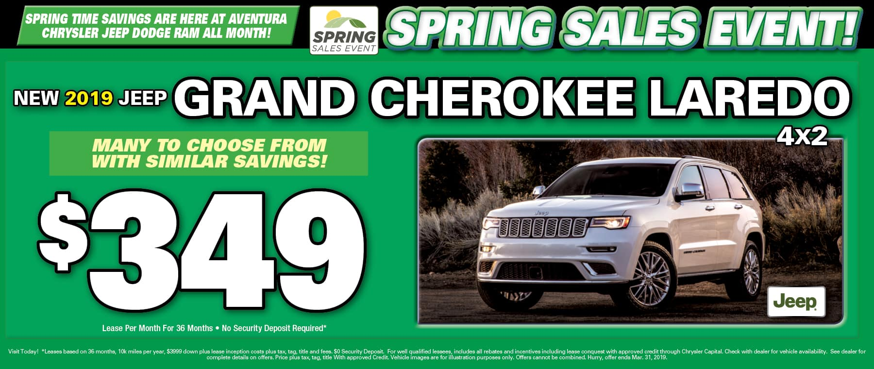 New 2019 Jeep Grand Cherokee! - Aventura Jeep!