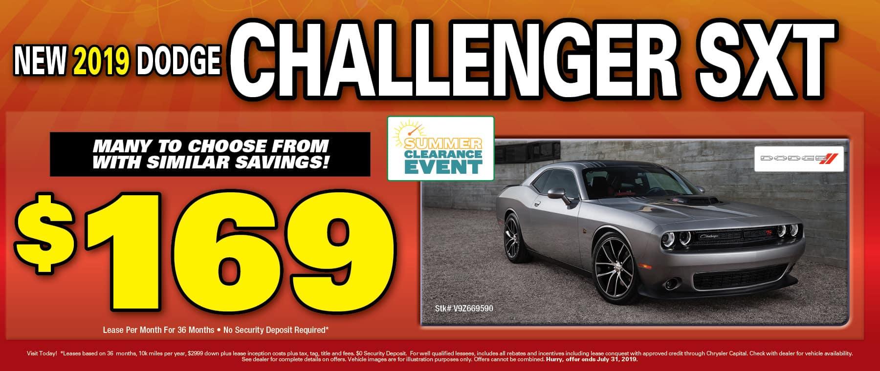 2019 Dodge Challengers!