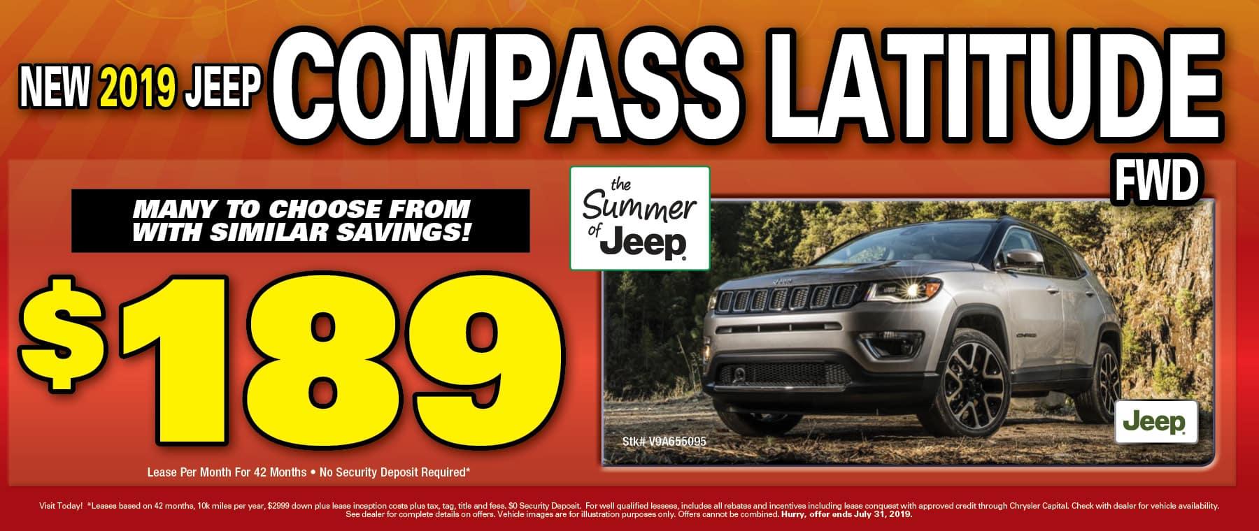 2019 Jeep Compass!