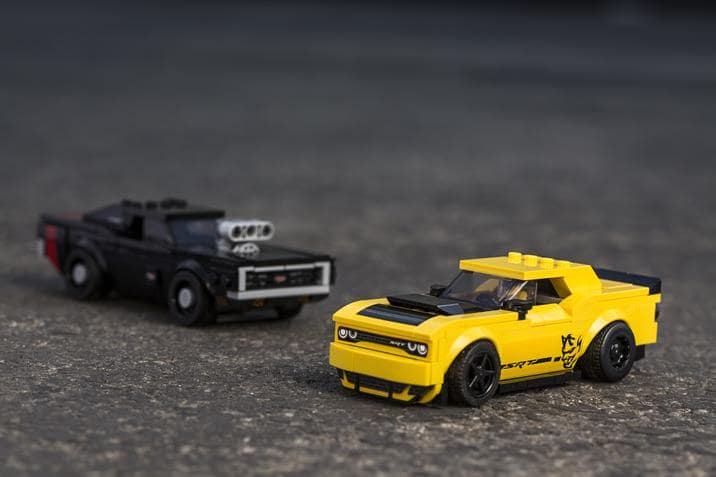 New Dodge LEGO Sets Available Now