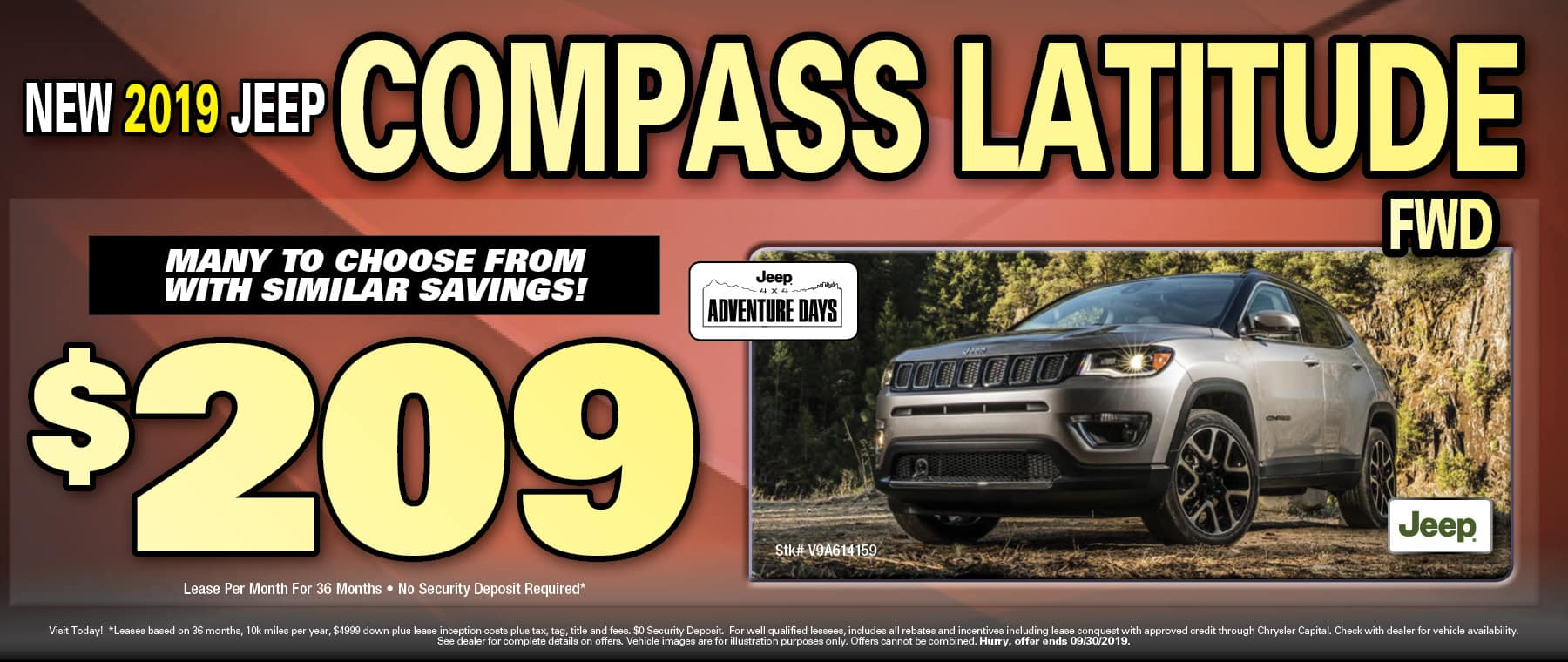 Compass $209 Lease