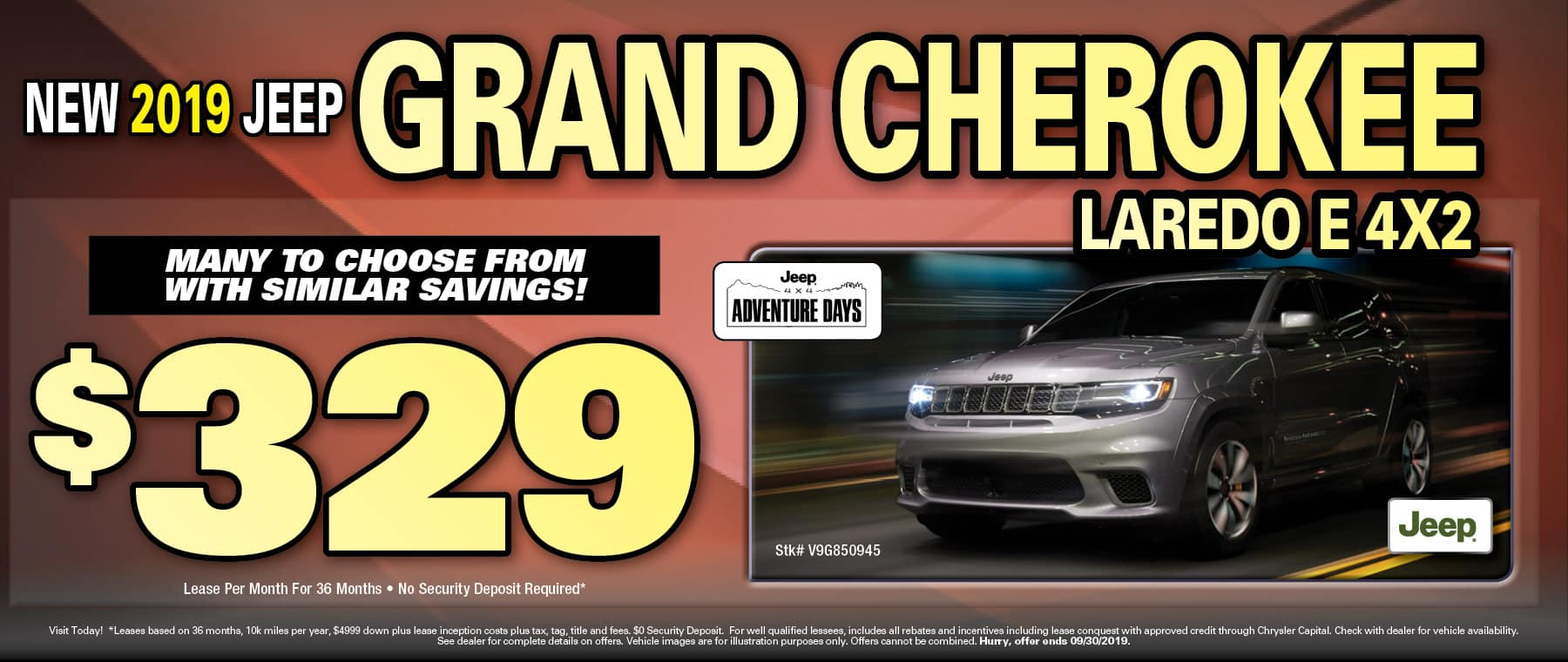Grand Cherokee $329 Lea