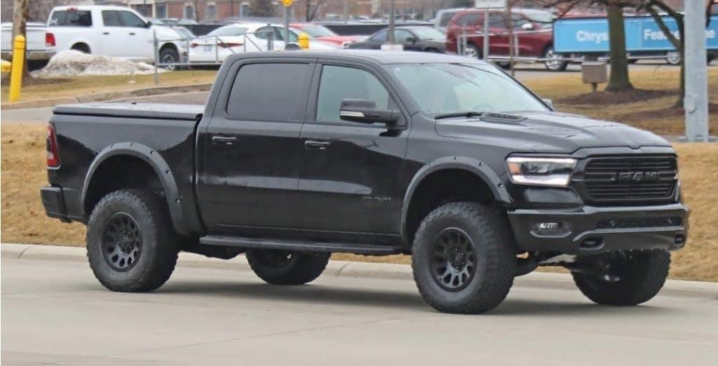 Dodge Ram Trx >> New Spy Shots Of Ram Rebel Trx Provide More Details