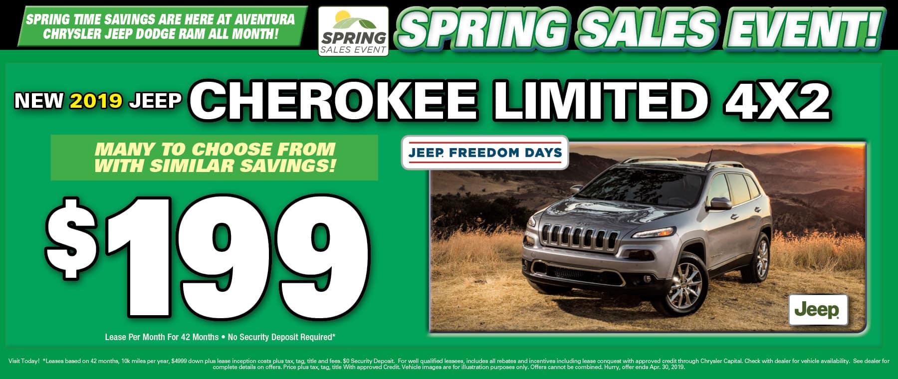 2019 Jeep Cherokee!