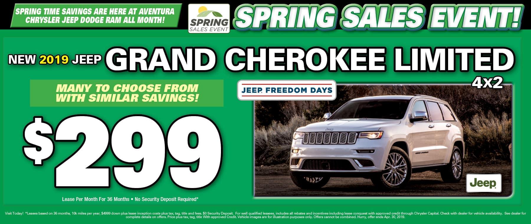 2019 Jeep Grand Cherokee!
