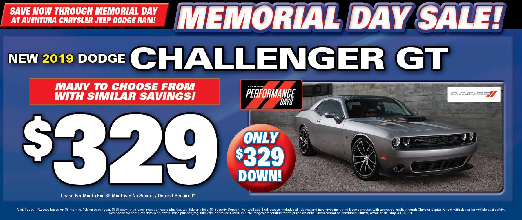 New Dodge Challenger GTs!