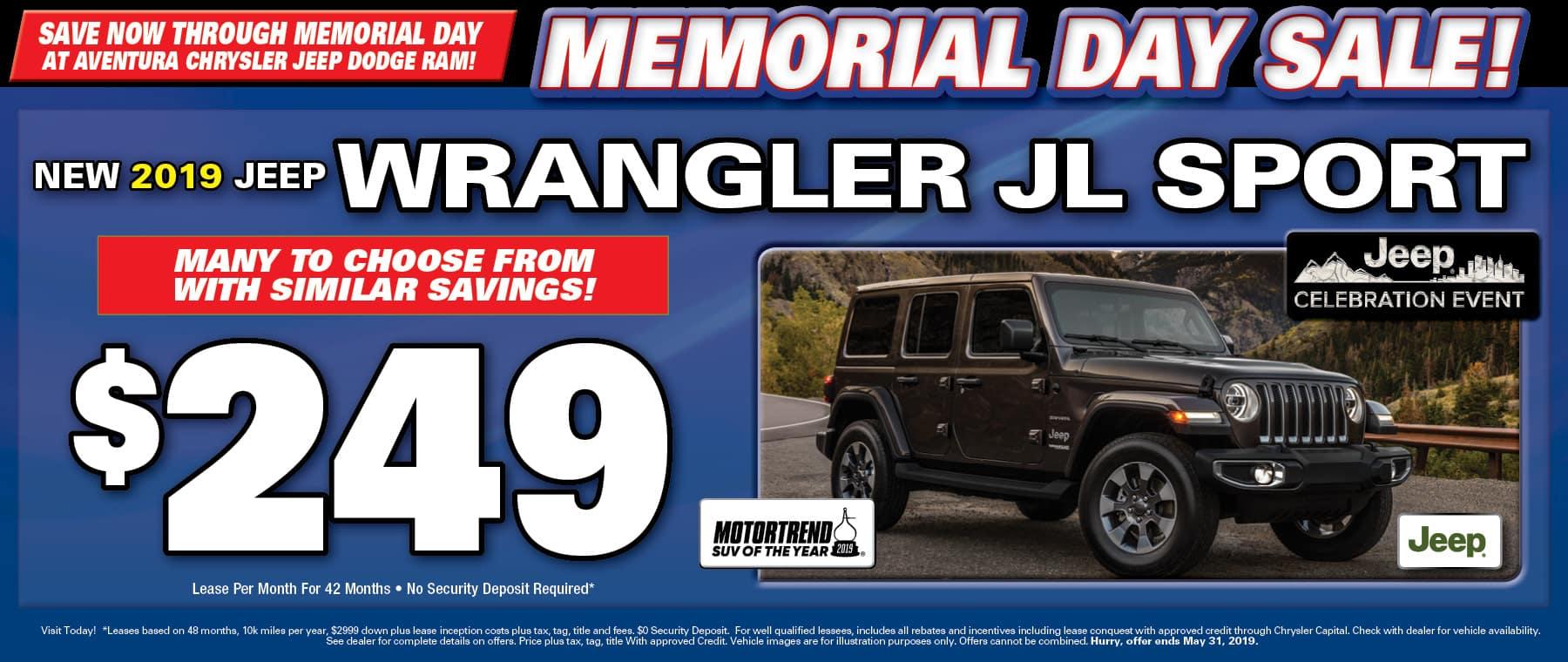 New Jeep Wrangler JLs!