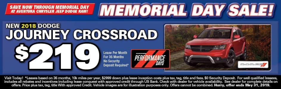 Aventura Dodge Journey Lease Special!