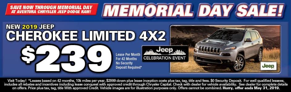 Aventura Chrysler Lease Special!