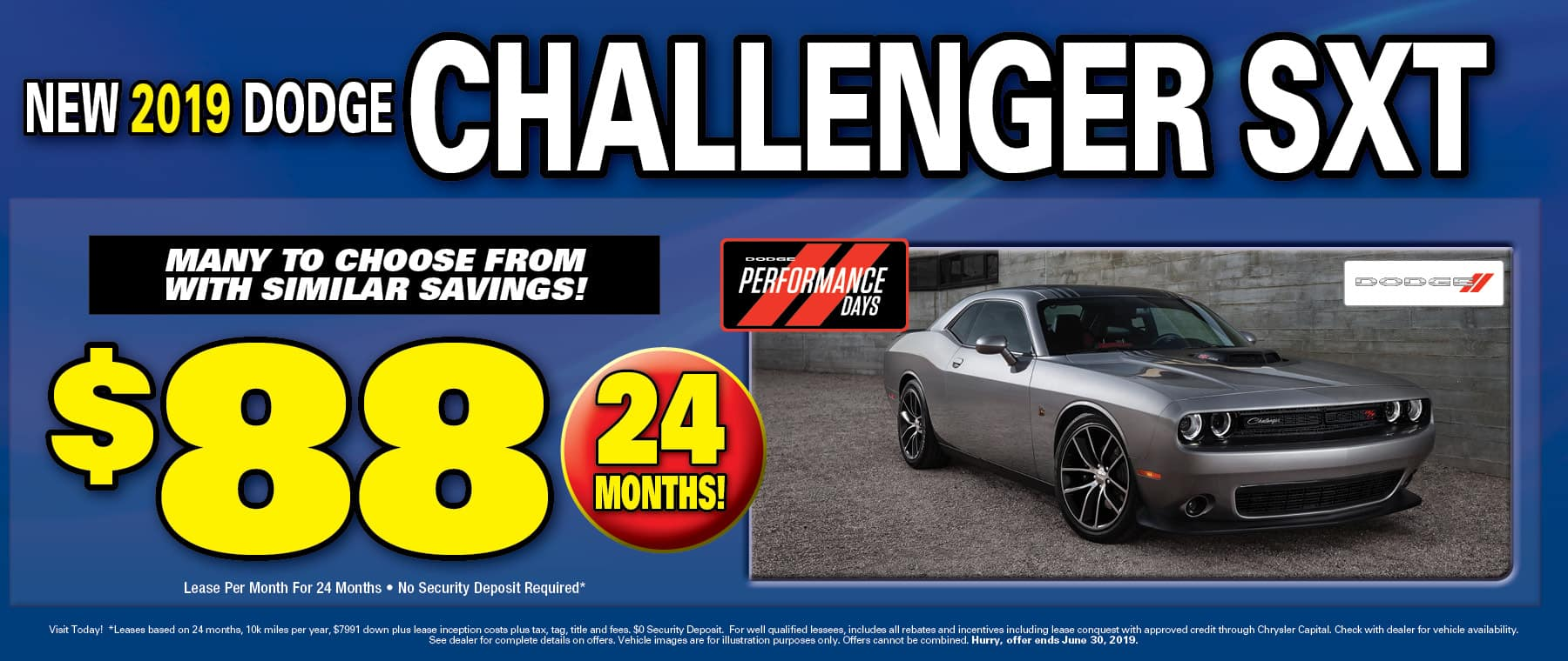 2019 Dodge Challenger STX