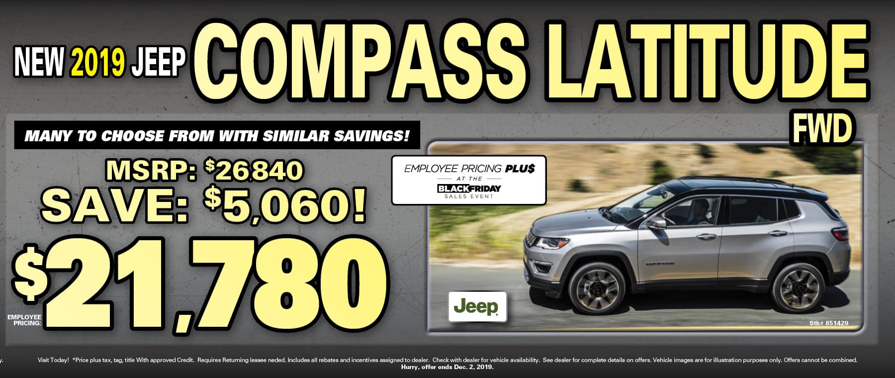 Compass Employee Pricing