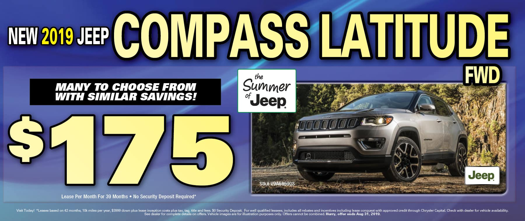 New 2019 Jeep Compass!