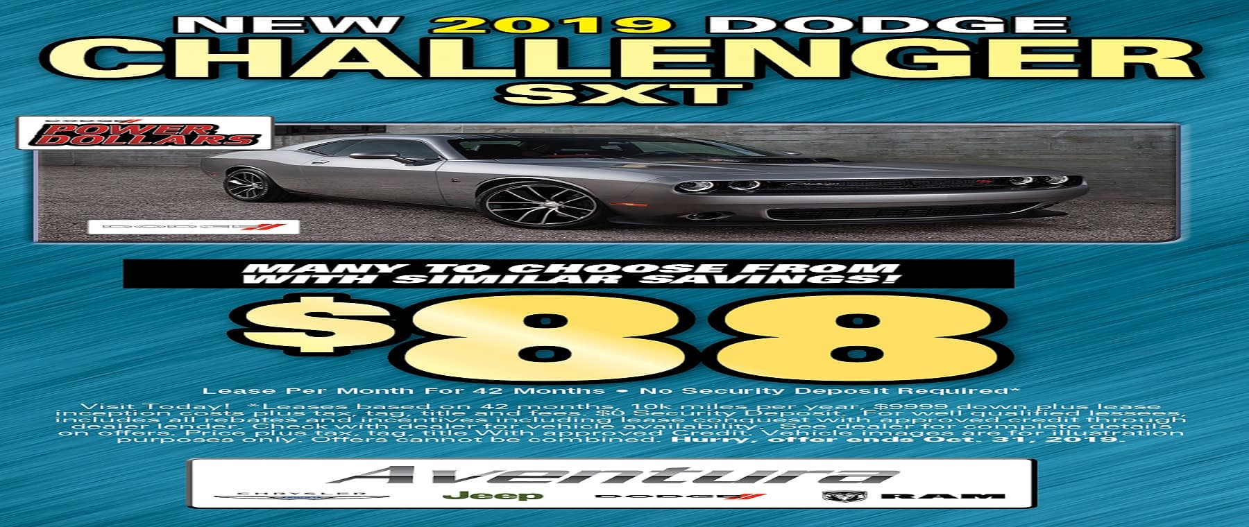 Challenger $88 Lease