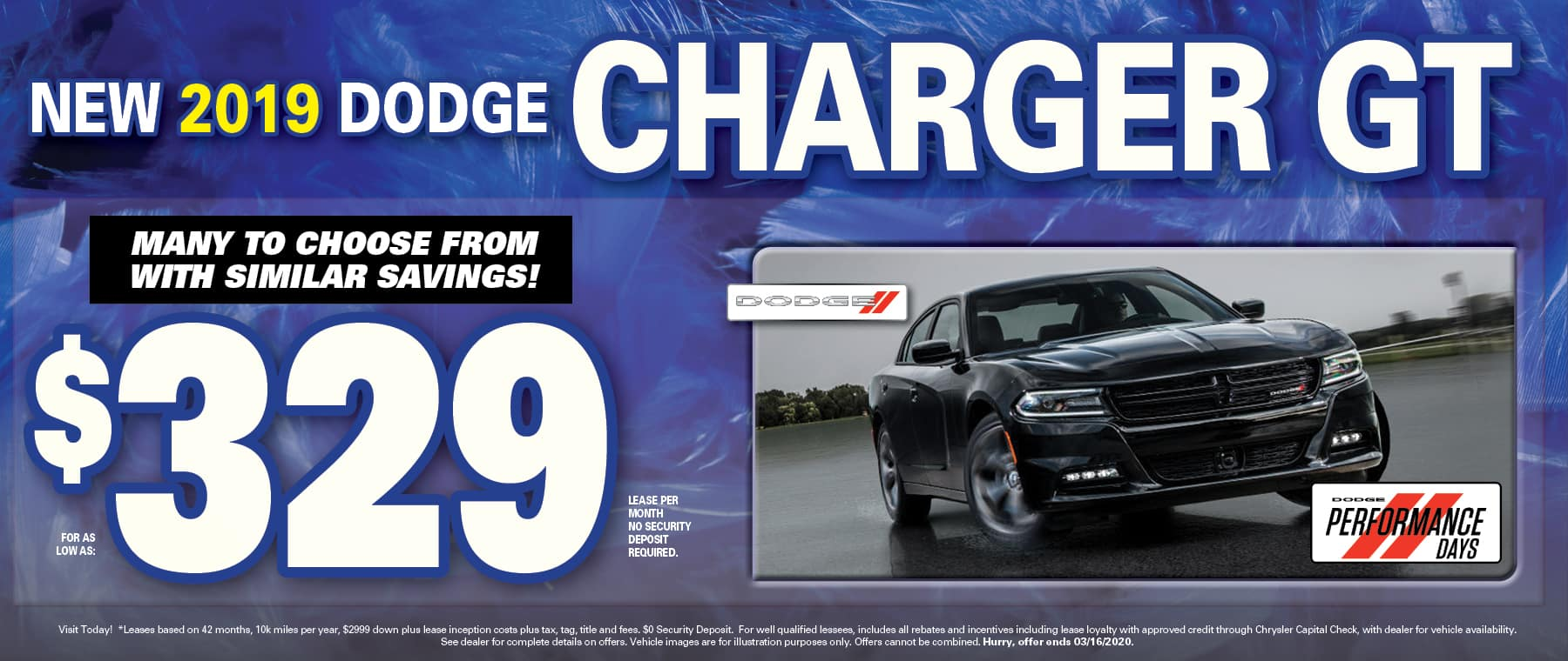 Charger Lease