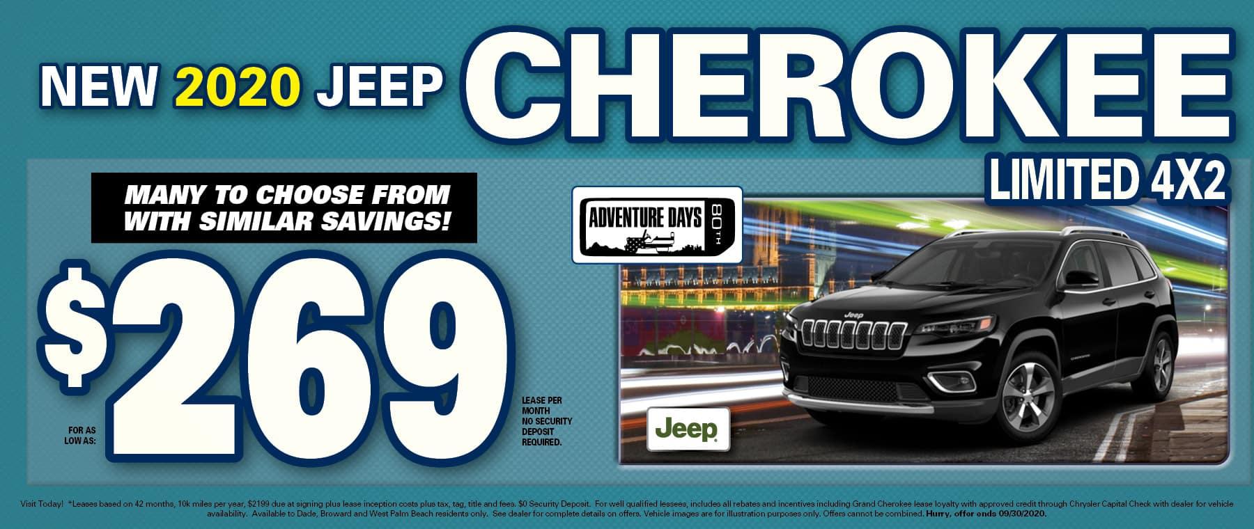 Cherokee $269