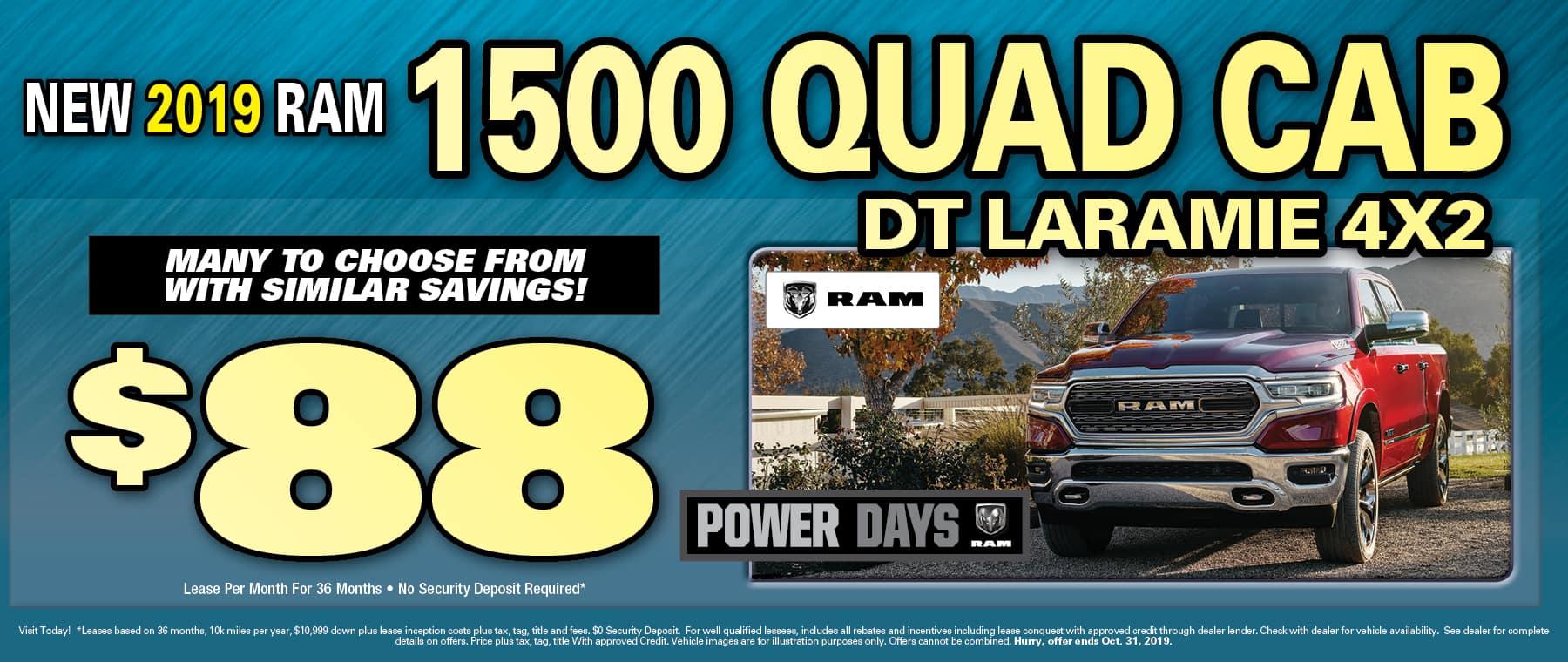 Quad Cab Laramie!