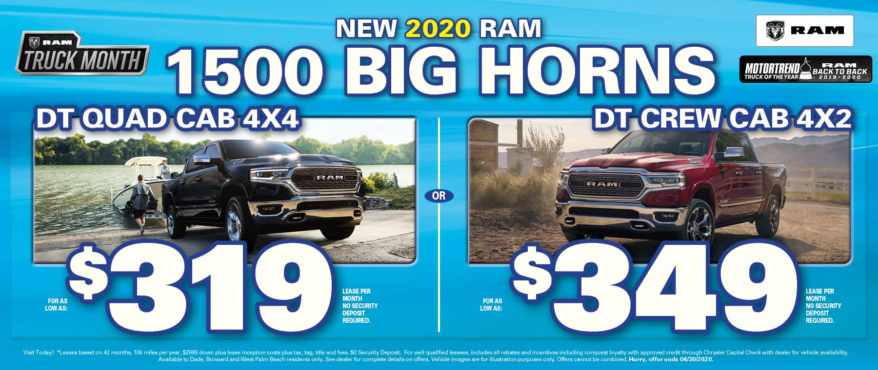 Ram 1500 Leases