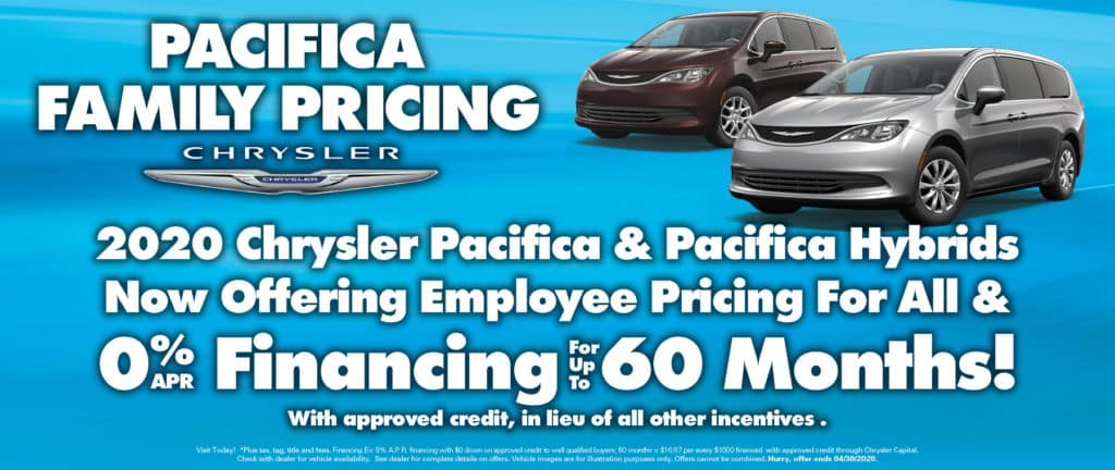 Pacifica Employee Pricing