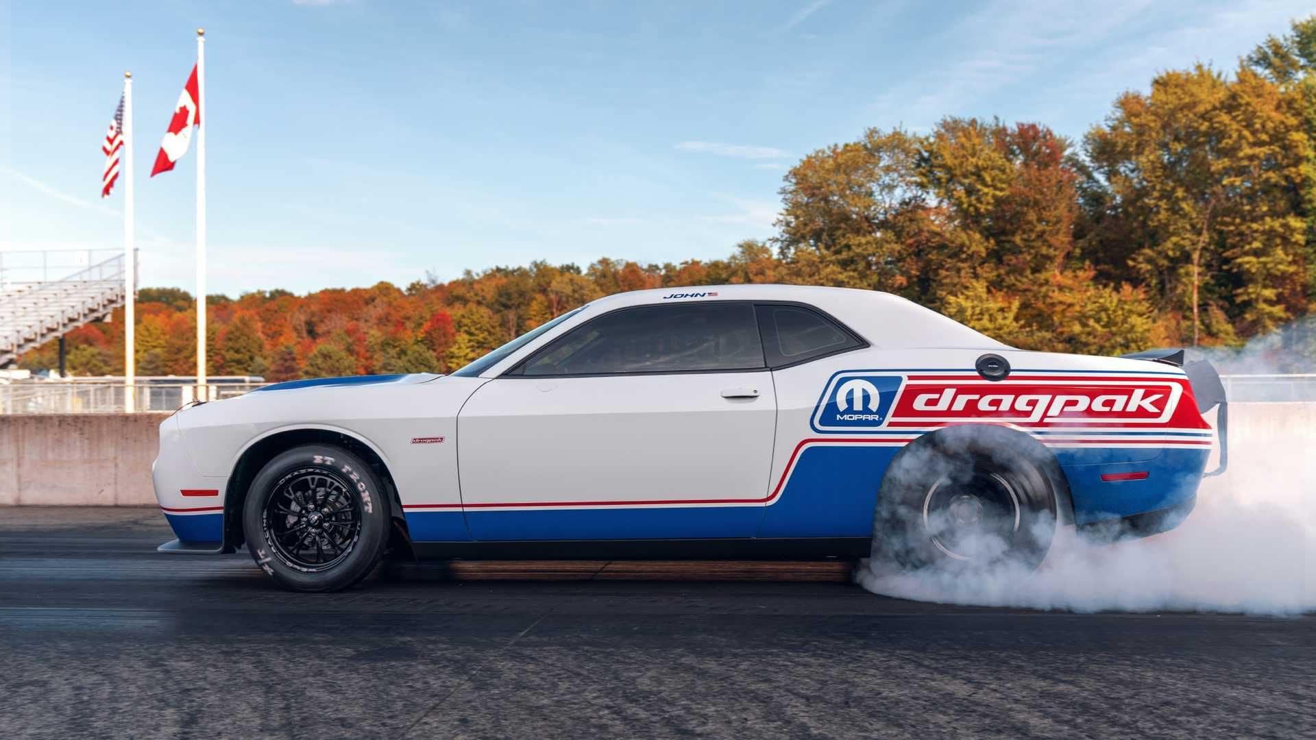 Dodge Announces 2020 Dodge Challenger Drag Pak At 2019 Sema