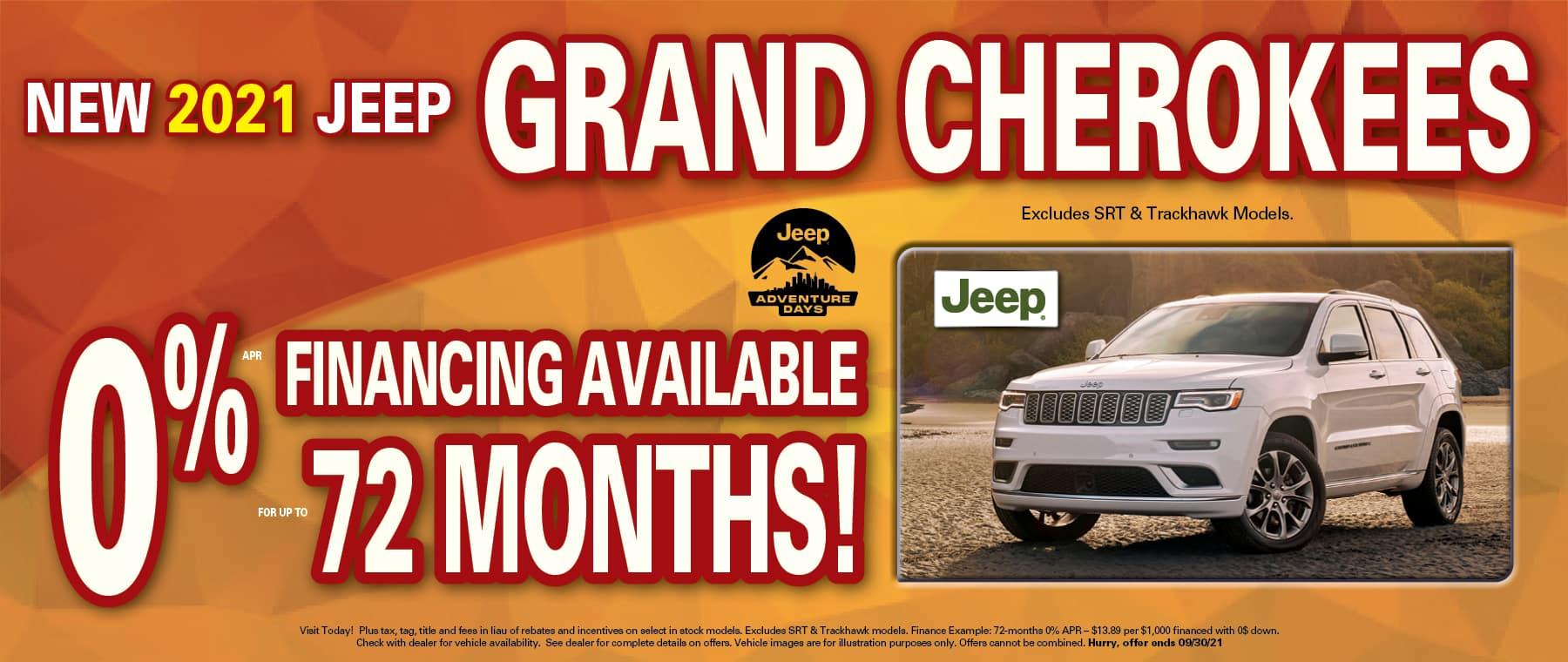 Grand Cherokee 0%