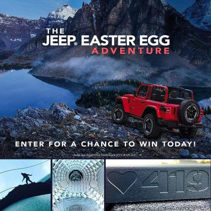 Design Your Own Jeep Easter Egg And Win A Jeep