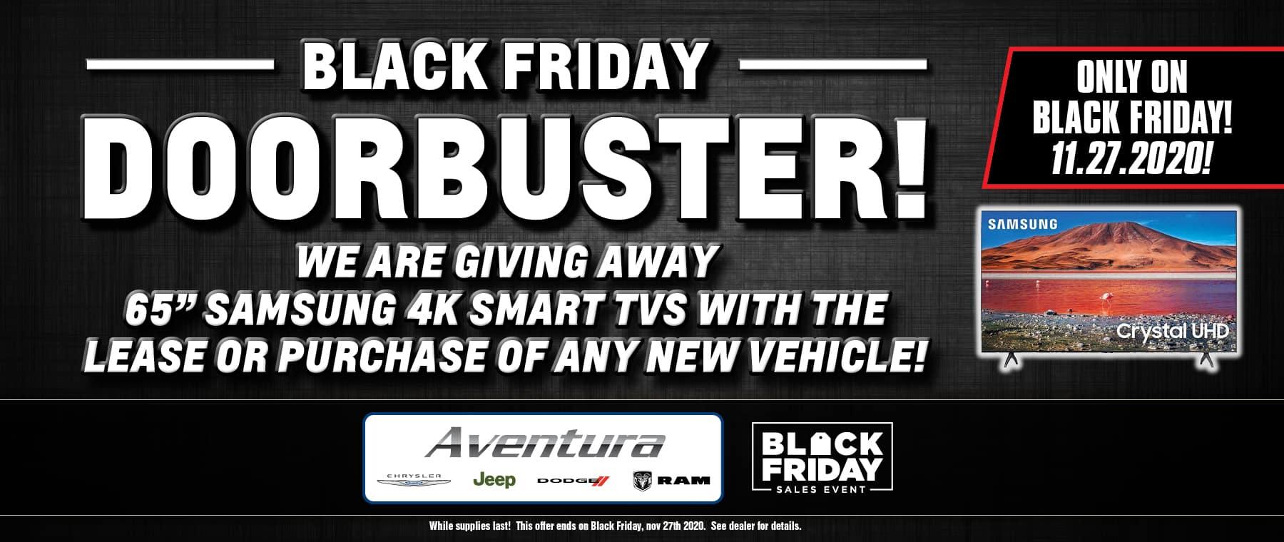 Black Friday Door Buster!