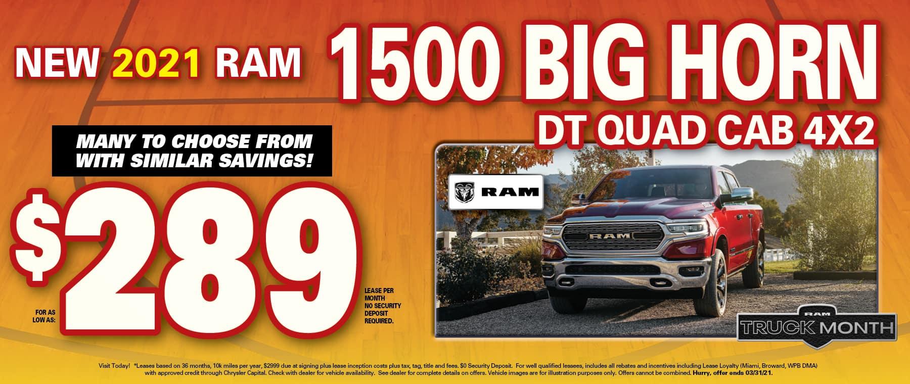 Ram Bighorn Quad Lease