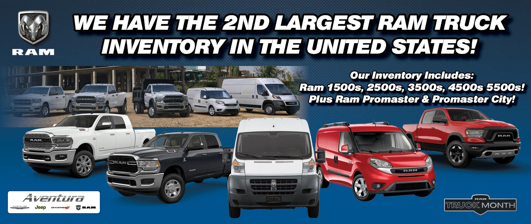 2nd Best Ram Inventory in the country